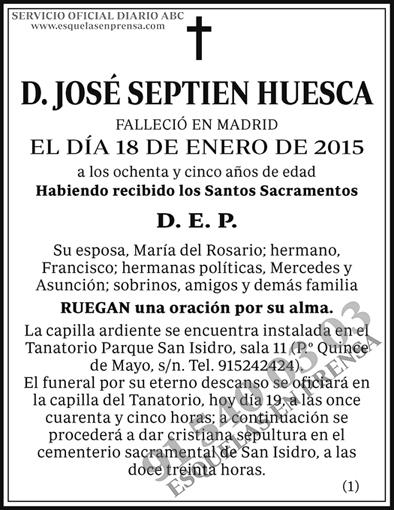 José Septien Huesca